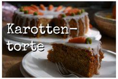 Karottentorte